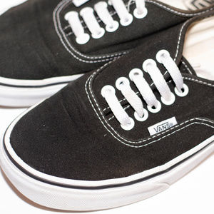 Vans Shoes - Vans Sneakers in Black w/White Sole